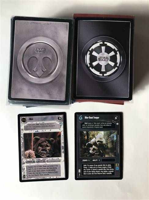 Star Wars CCG (SWCCG) Endor Common/Uncommon Set