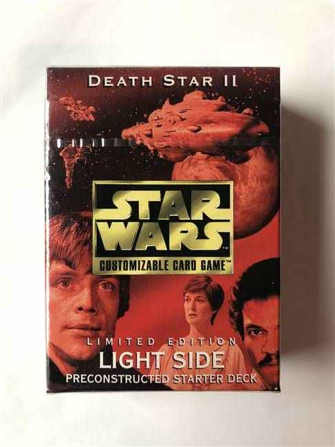 Star Wars CCG (SWCCG) Death Star II Starter Deck (Light Side - Sealed)