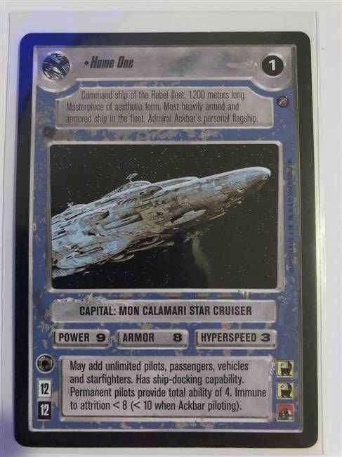 Star Wars CCG (SWCCG) Home One
