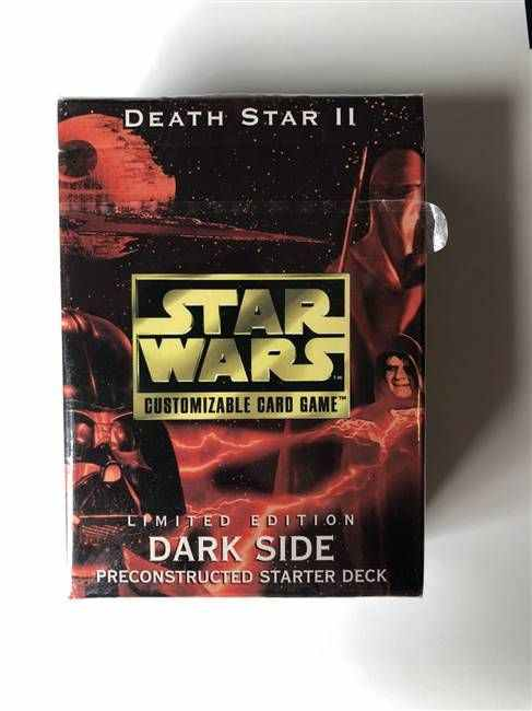 Star Wars CCG (SWCCG) Death Star II Starter Deck (Dark Side - Sealed)