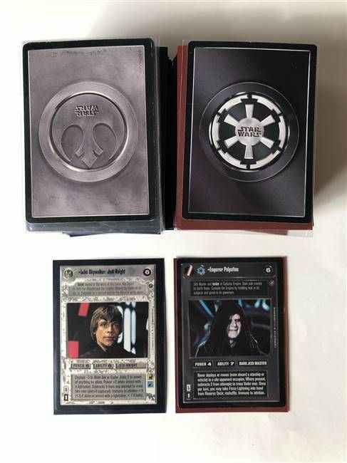 Star Wars CCG (SWCCG) Death Star II Complete Set (With UR's)
