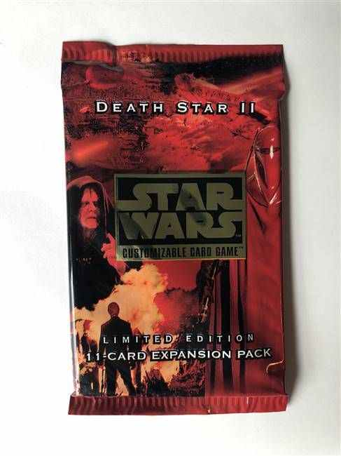 Star Wars CCG (SWCCG) Death Star II Booster Pack (Sealed)