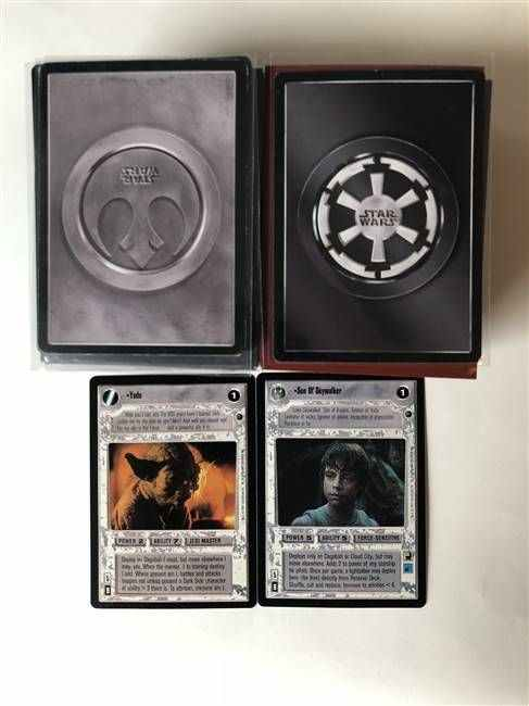 Star Wars CCG (SWCCG) Dagobah Limited Complete Set