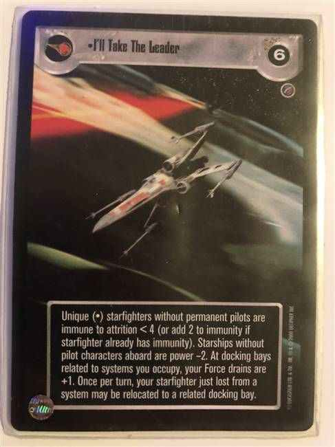 Star Wars CCG (SWCCG) I'll Take The Leader
