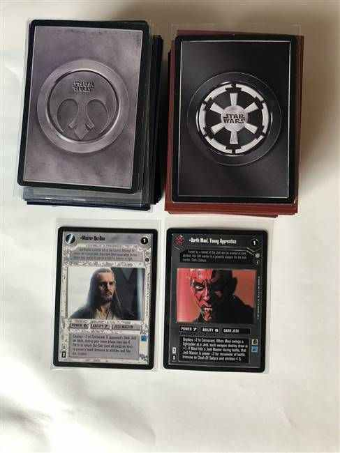 Star Wars CCG (SWCCG) Coruscant Complete Set (Without AI)