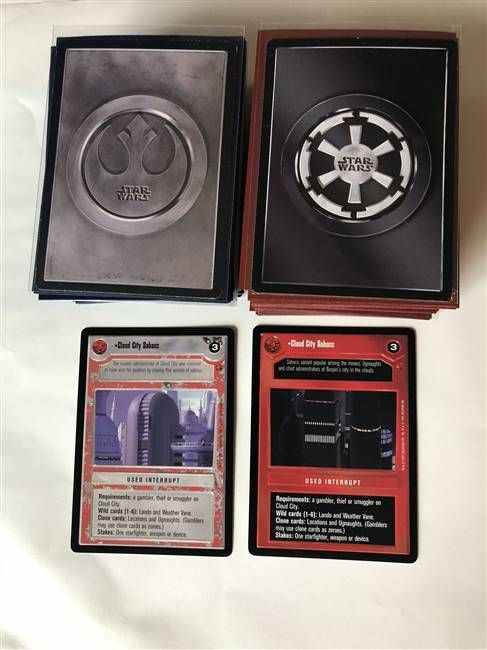 Star Wars CCG (SWCCG) Cloud City Common/Uncommon Set