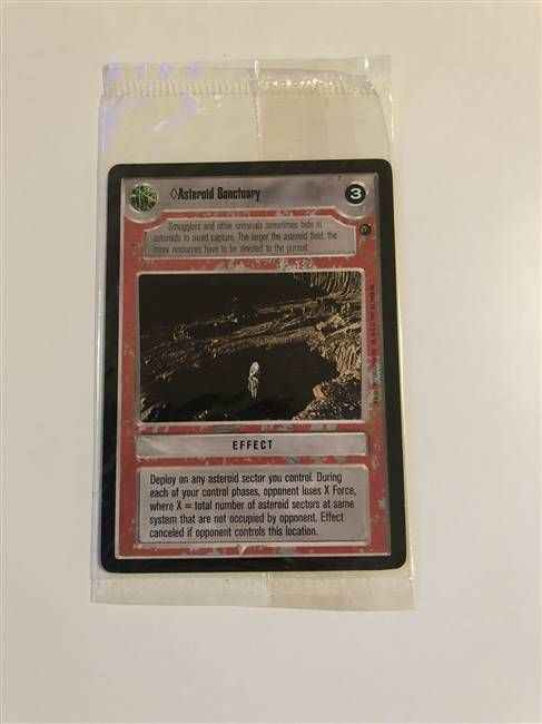 Star Wars CCG (SWCCG) Asteroid Sanctuary - Corrected (Sealed)