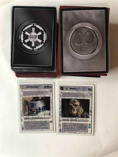 Star Wars CCG (SWCCG) A New Hope Unlimited Complete Set