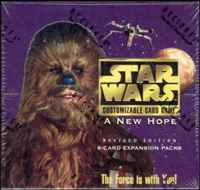 Star Wars CCG (SWCCG) A New Hope Limited Complete Set