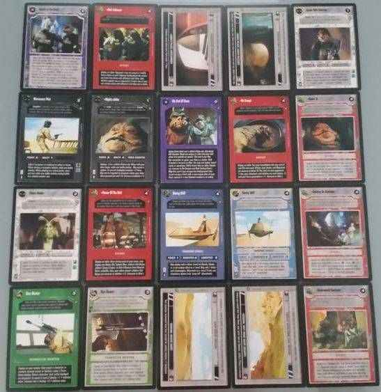 Star Wars CCG (SWCCG) Jabba's Palace Sealed Deck Complete Set