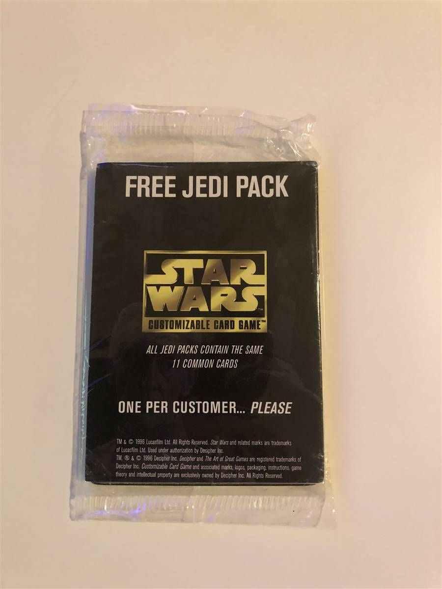 Star Wars CCG SPECIAL EDITION LIGHT SIDE Starter Deck New Sealed!