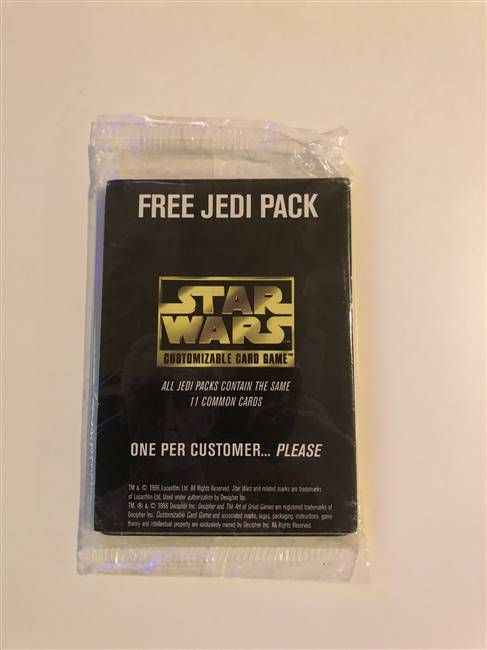 Star Wars CCG (SWCCG) Jedi Pack Complete Set (Sealed)