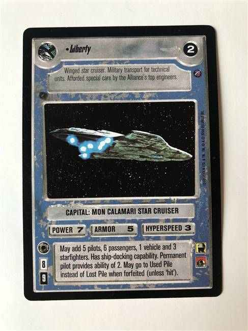 Star Wars CCG (SWCCG) Liberty