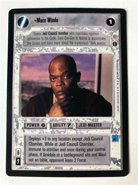 Star Wars CCG (SWCCG) Mace Windu