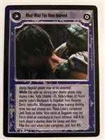 Star Wars CCG (SWCCG) Mind What You Have Learned/Save You It Can
