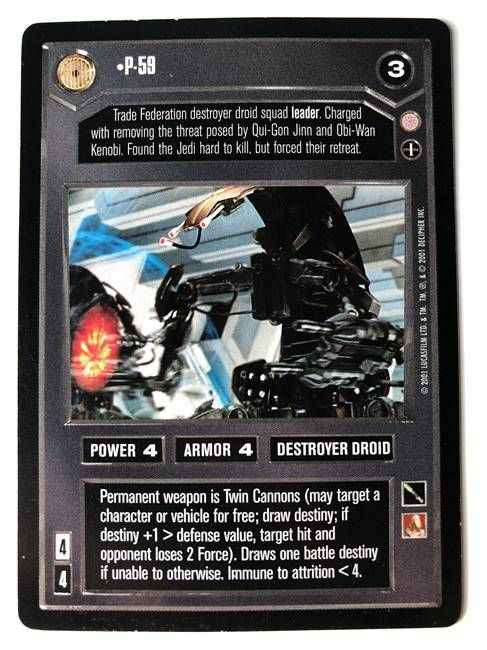 Star Wars CCG (SWCCG) P-59