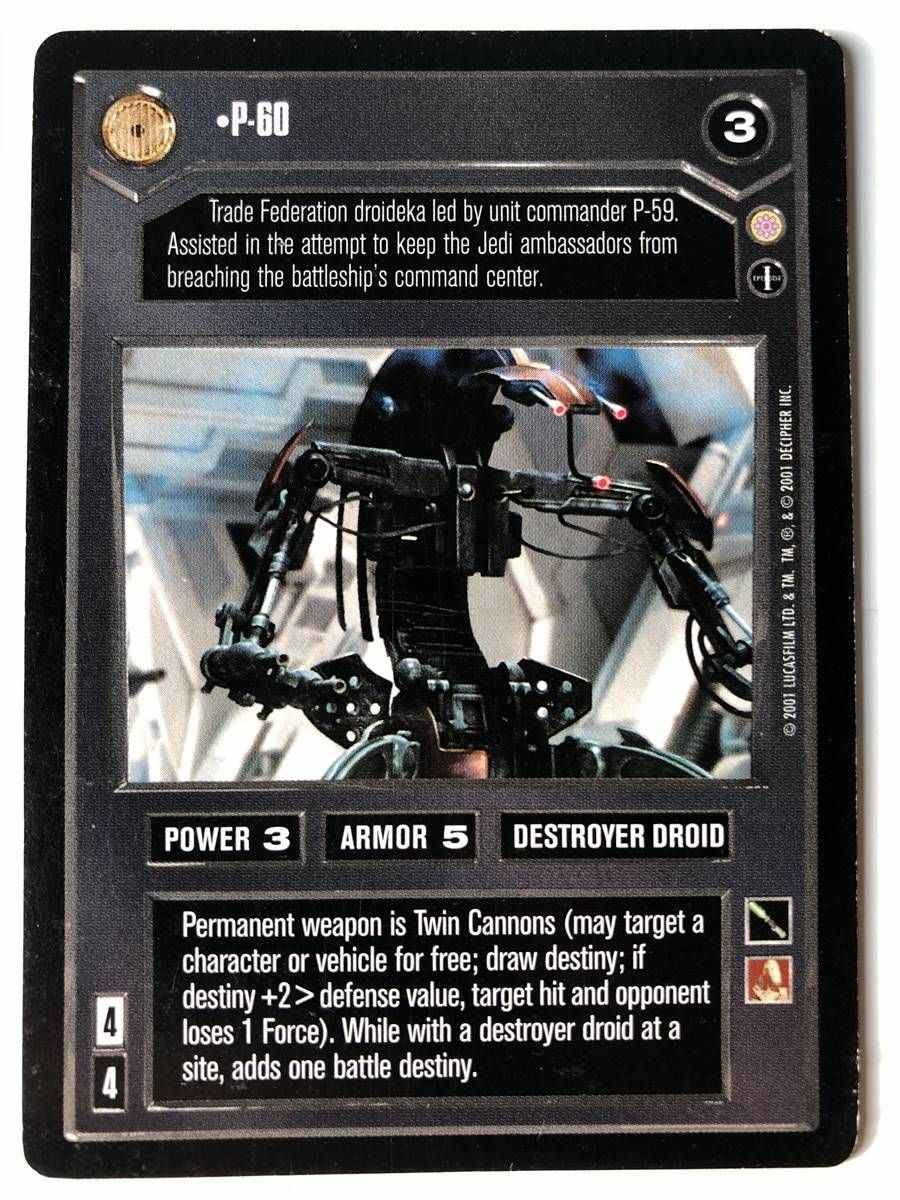 STAR WARS CCG CORUSCANT We Wish To Board At Once