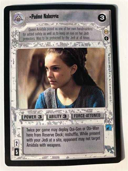 Star Wars CCG (SWCCG) Padme Naberrie