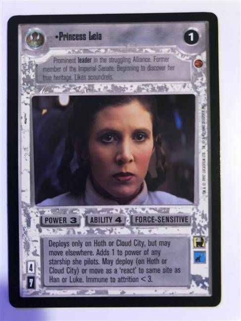 Star Wars CCG (SWCCG) Princess Leia