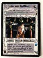 Star Wars CCG (SWCCG) Queen Amidala, Ruler Of Naboo