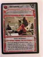 Star Wars CCG (SWCCG) Rebel Leadership