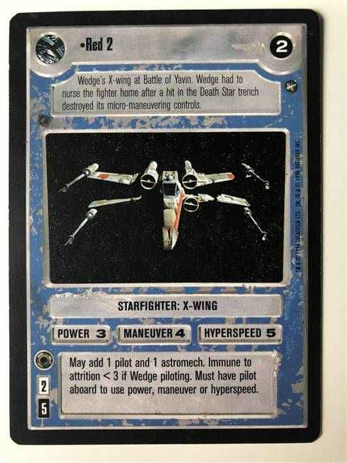 Star Wars CCG (SWCCG) Red 2