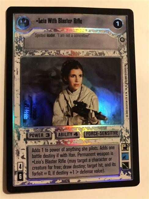 Star Wars CCG Reflections II Foil Wicket