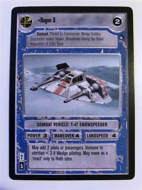 Admiral Ozzel FOIL Near Mint REFLECTIONS I star wars ccg swccg