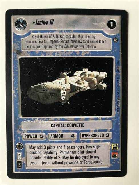 Star Wars CCG (SWCCG) Tantive IV