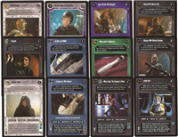 Star Wars CCG (SWCCG) Enhanced Jabba's Palace Complete Set