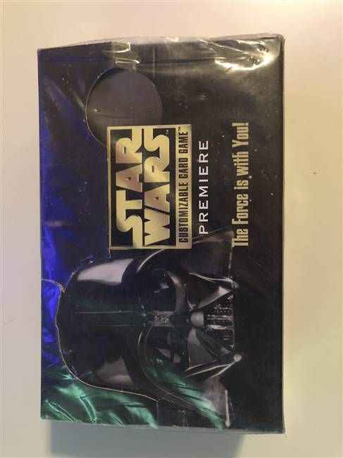 Star Wars CCG (SWCCG) Premiere Limited Booster Box (Sealed)