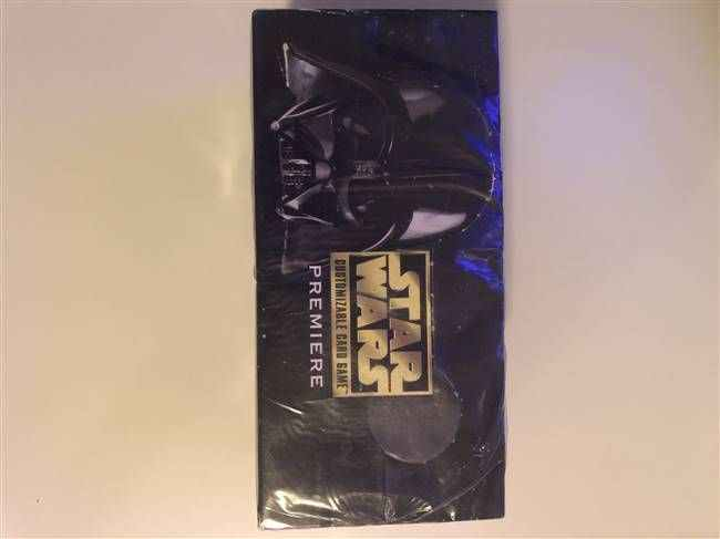 Star Wars CCG (SWCCG) Premiere Limited Starter Deck Box (Sealed)