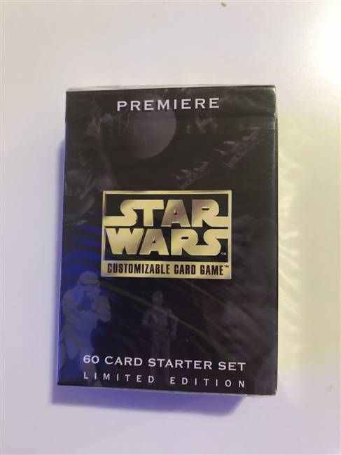 Star Wars CCG (SWCCG) Premiere Limited Starter Deck (Sealed)