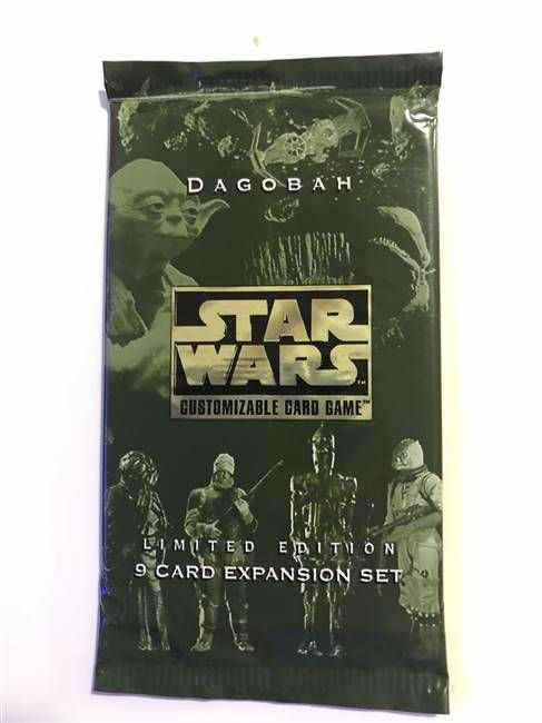 Star Wars CCG (SWCCG) Dagobah Limited Booster Pack (Sealed)