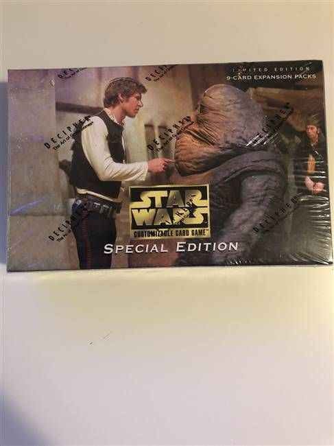 Star Wars CCG (SWCCG) Special Edition Booster Box (Sealed)