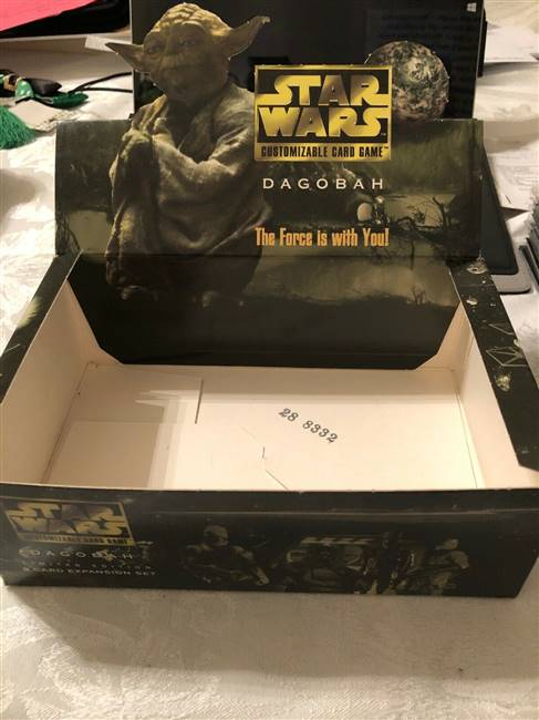 Star Wars CCG (SWCCG) Dagobah Limited Booster Box (DISPLAY ONLY)