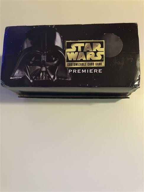 Star Wars CCG (SWCCG) Premiere Limited Starter Deck Box (DISPLAY ONLY)