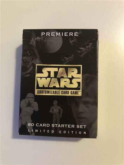 Star Wars CCG (SWCCG) Premiere Limited Starter Deck  (DISPLAY ONLY)
