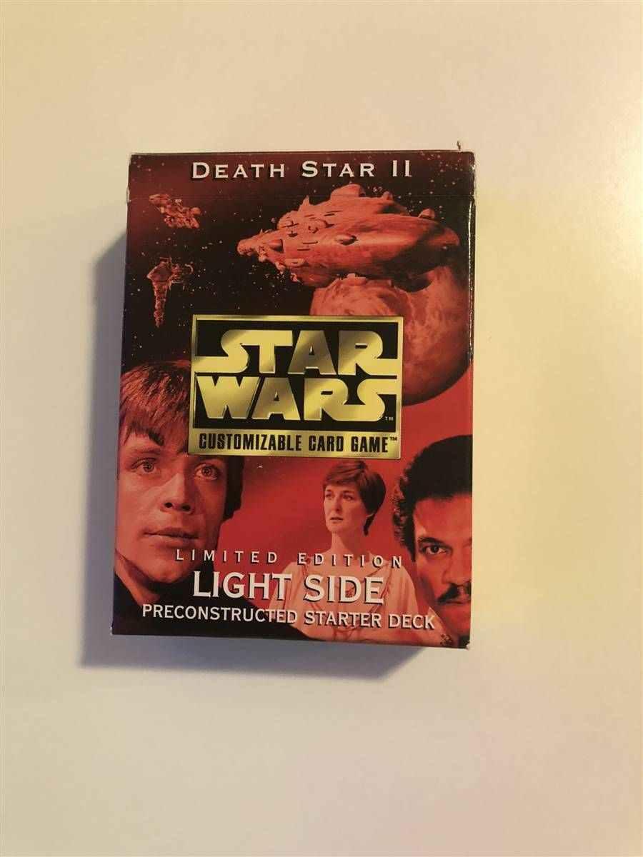 Star Wars CCG Death Star II 2 SWCCG Luminous