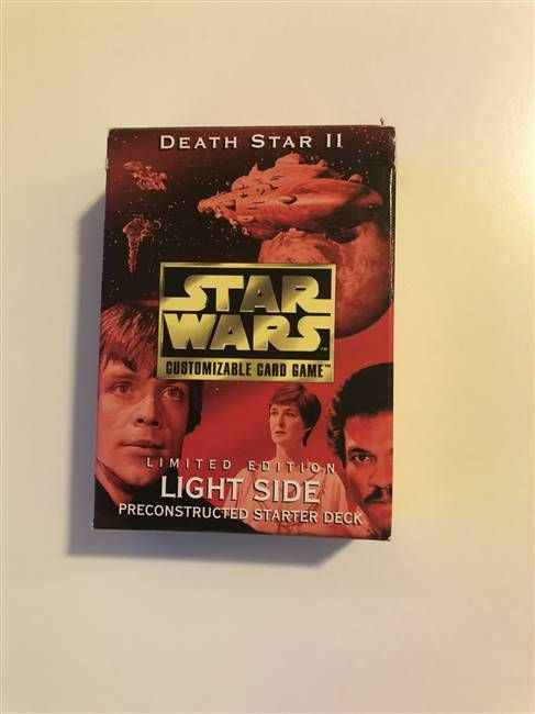 Star Wars CCG (SWCCG) Death Star II Light Side Starter Deck (DISPLAY ONLY)