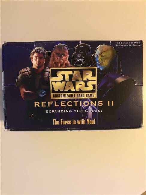 Star Wars CCG (SWCCG) Reflections II Booster Box (DISPLAY ONLY)