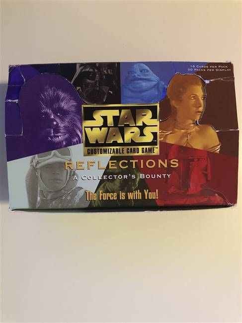 Star Wars CCG (SWCCG) Reflections Booster Box (DISPLAY ONLY)