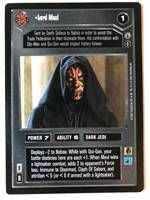 Star Wars CCG (SWCCG) Lord Maul