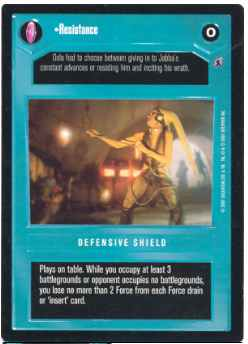 Star Wars CCG Reflections 3 III Let Them Make The First Move//At Least.. SWCCG