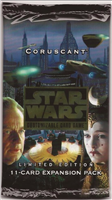 Star Wars CCG (SWCCG) Coruscant  Booster Pack (Sealed)