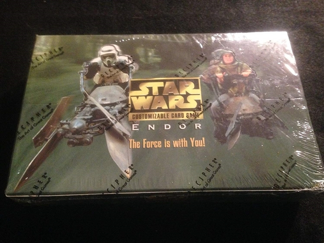 Star Wars CCG (SWCCG) Endor Booster Box (Sealed)