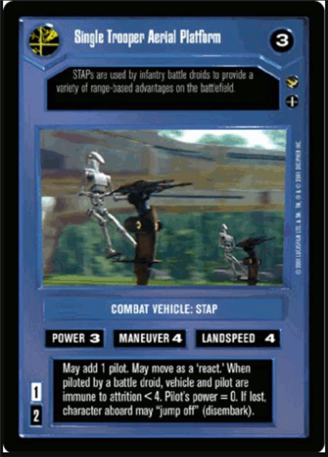 Star Wars CCG Theed Palace DFS-327 NON-MINT SWCCG