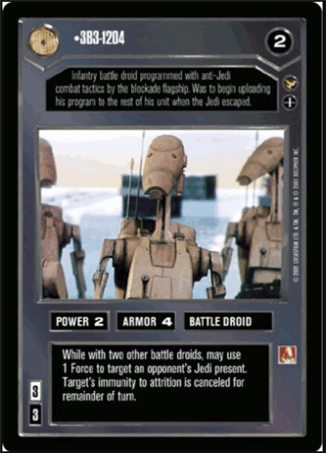 Star Wars CCG Theed Palace We Have a Plan \ They Will Be Lost and Confused