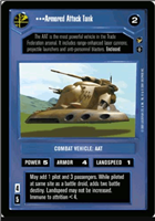 Star Wars CCG (SWCCG) Armored Attack Tank