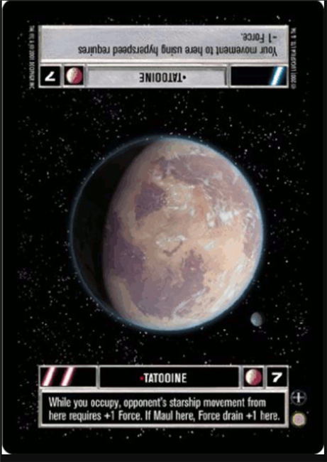 Star Wars CCG (SWCCG) Tatooine
